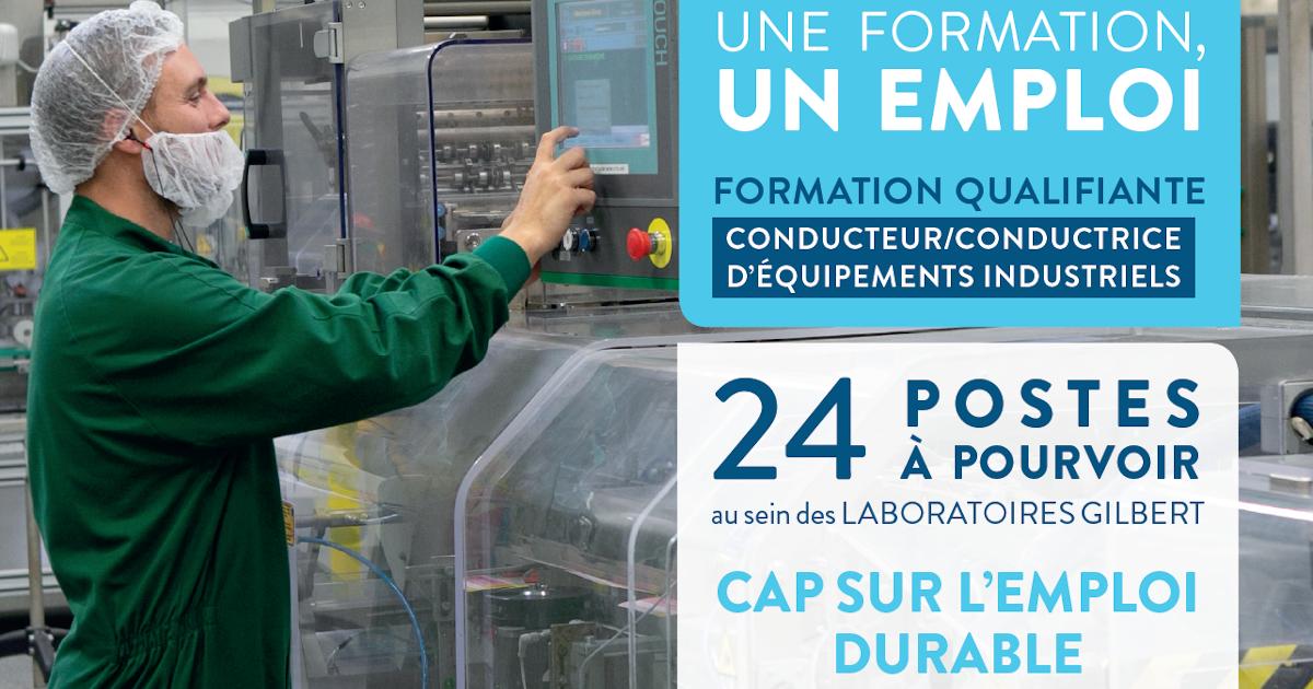 Une formation un emploi 24 postes a pourvoir au sein des laboratoires gilbert